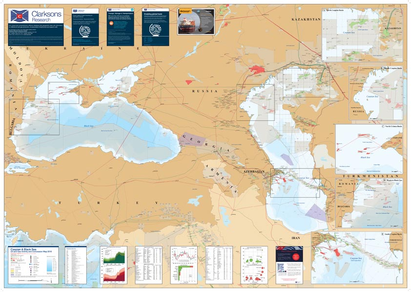 Caspian black sea oil and gas map sample page 1 gumiabroncs Gallery